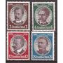 3º Reich Alemania 1934 Serie 4 Sellos Nueva 105 U$d