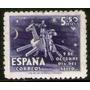 España Sello Aéreo Mint Quijote Y Sancho Panza Año 1947