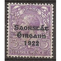 Irlanda Estado Libre Sello De 1922 - Nª30 Usado ++u$s Raro