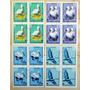 Bulgaria Aves, Serie Cuadros Sc. 3008-11 Usada L7126