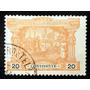 Portugal, Sello Taxe Yv 3 20r Vasco Da Gama 1898 Usado L6939