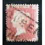 Inglaterra - Sello Sc. 11 1p Rojo Small Crown 14 Usado L3553