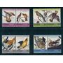 Tuvalu Mariposa Pajaros Aves Flora Serie Completa Nueva Mint