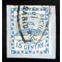 Argentina, Sello Conf Gj 3 15c. Usado Bicon Rosario L7180