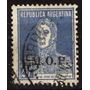 Argentina 1931 - M.o.p. Letras Perfiladas S/20c San Martin
