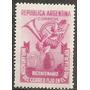 Argentina Serie Mt 497 Gj 959 Mint Año1948 Correo Fijo