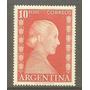 Argentina Estampilla Eva Perón De $ 10.00 Mint