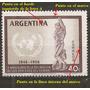Argentina Variedades Derechos Del Hombre 595 Gj 1116