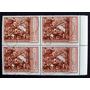 Argentina - Bloque X 4 Gj 1205 Errores Impresión Mint L2713
