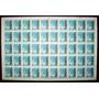 Argentina - Plancha 50 Sellos Gj 1349a Cohetes Mint L3772