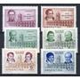 Argentina 1960 Gj 1169-74** Me619-22 Mint Revolución De Mayo