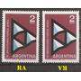 Argentina Filigrana La Fuerza Aerea Gj 1237 Mt 660 A1962