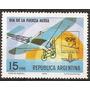Argentina Día De La Fuerza Aérea Mt 1069 Gj 1739 Año1976