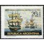 Argentina Sello Aéreo Nuevo Partida Expedición Al Perú 1970