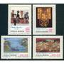 * Argentina 1982 Gj 2043/46 Mt 1349/52 Tapices Arte