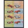 2001 Automovilismo Minipliego Con 2 Series Mint - Raro