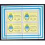 Argentina 1966 Gj Hb 21 Mint Block Escudos U$ 9