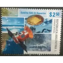 C@- Argentina - Satélite Aquarius - Año 2011 - Mint