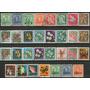 Nueva Zelanda 31 Sellos Usados Fauna = Flora Años 1938-71