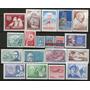Chile 19 Sellos Nuevos Antártida = Barcos Años 1968-74
