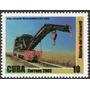 Cuba Sello Mint Historia Del Ferrocarril Cubano Y Grúa 2003