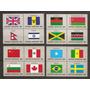 Naciones Unidas Serie Banderas Yvert N°390/05 Mint U$s+++