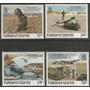 Malvinas Falkland - Serie Mint - Yv 472-475 - Sc 457-460