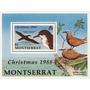 Filatelia: Montserrat Yv. 697/699 - Bl. 47 (1988) ¡aves!
