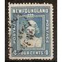 Newfoundland Colonia Inglesa Tierra Nueva Año1938 Usada