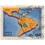 Estampilla De Bolivia 1975 Homenaje Al Llovo Aéreo Boliviano