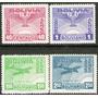 Bolivia Serie Aérea X 4 Sellos Nuevos Aniv. Revolución 1943