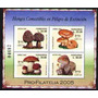 Honduras 2005 - Hongos Comestibles - Hojita Bloque