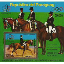 Olímpicos Verano 1976 - Paraguay - Hoja Block Mint (mnh)