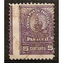 Paraguay Variedad Error Del Año 1900-01 Salto De Peine