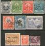 Perú 10 Sellos Usados Manco Capac = Pizarro Años 1884-1941