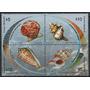 Moluscos - Conchas - Uruguay - Serie Mint (mnh)