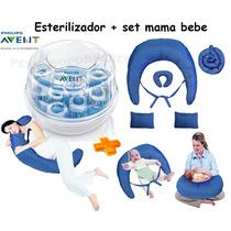 Esterilizador De Mamaderas Microondas Avent+set 5 Productos