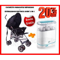 Paraguita Cochecito Reforzado+esterilizador Aventenviogratis