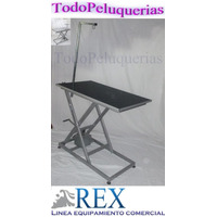 Mesa Regulable Con Sistema Hidraulico P/ Peluqueria Canina