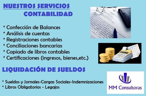 Estudio Contable - Contadora Pública - Mm Consultoras