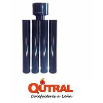 Qutral Kit De Instalacion Para Estufa A Leña Techo Enlozado