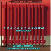 Radiadores Calefaccion Calderas Leña No Aluminio - Pezoa