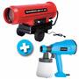 Calefactor Portatil Gamma 65 A Gasoil + Equipo De Pintar 350