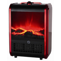 Calefactor Electrico Simil Hogar Clever Fp1500 W Hermosos