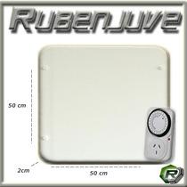 Panel Placa Calefactor 480w Bajo Consumo Unico Con Timer
