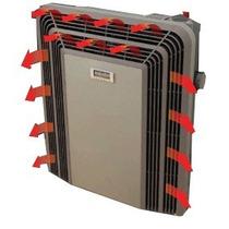 Calefactor Estufa Eskabe Titanio Termostato 5000 Sin Salida