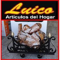 Leños Refractarios 4000 Kcal Con Valvula - Local A La Calle