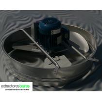 Extractor De Aire Industrial 76 Cm Diámetro Axial/helicoidal