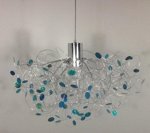 L mpara de colgar led estilo minimalista el dise o est - Como hacer lamparas de techo modernas ...