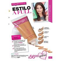 Avon Color Trend Base De Maquillaje Piel Normal A Seca Fps15